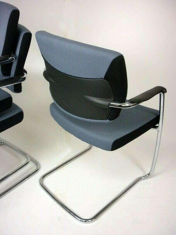 Senator Freeflex grey visitor chair