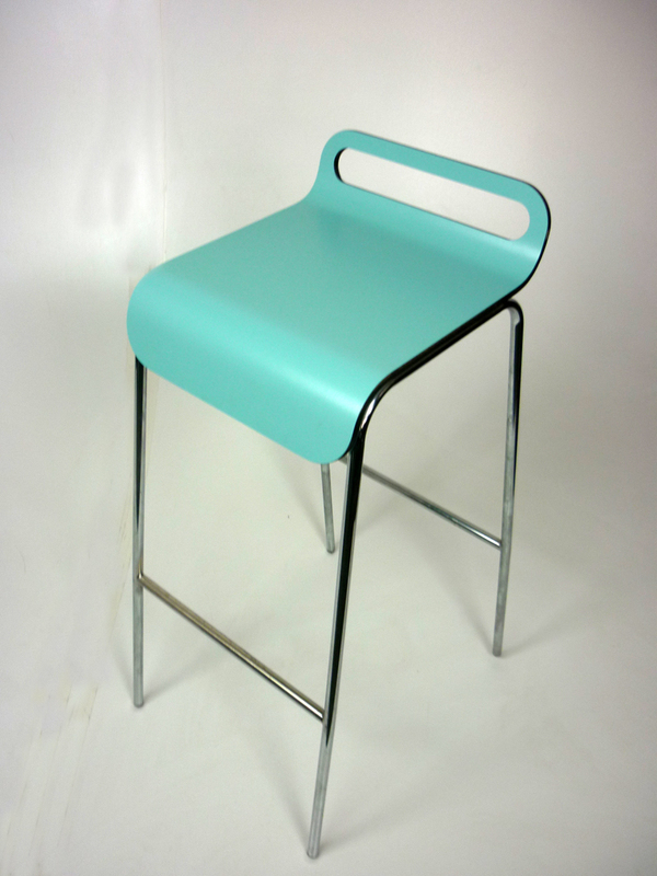 Duck egg blue stools