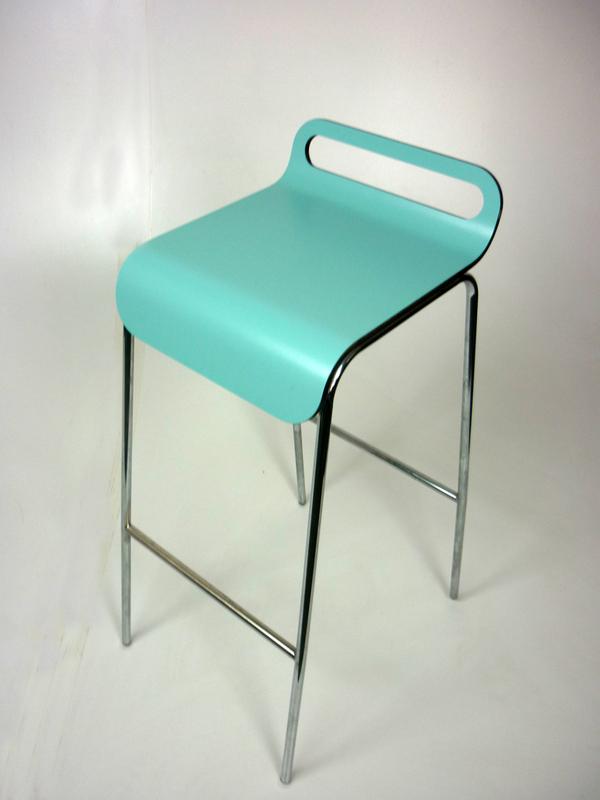 Duck egg blue stools