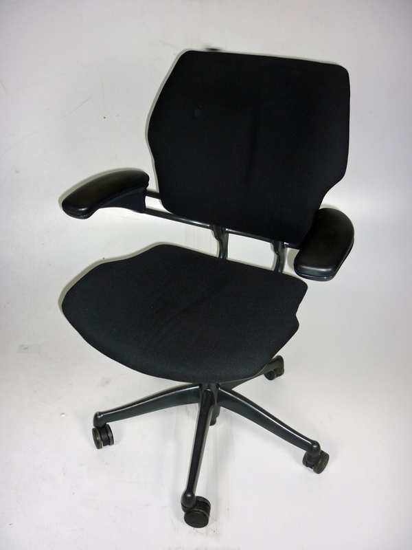 Humanscale Freedom mid-back task chair in black