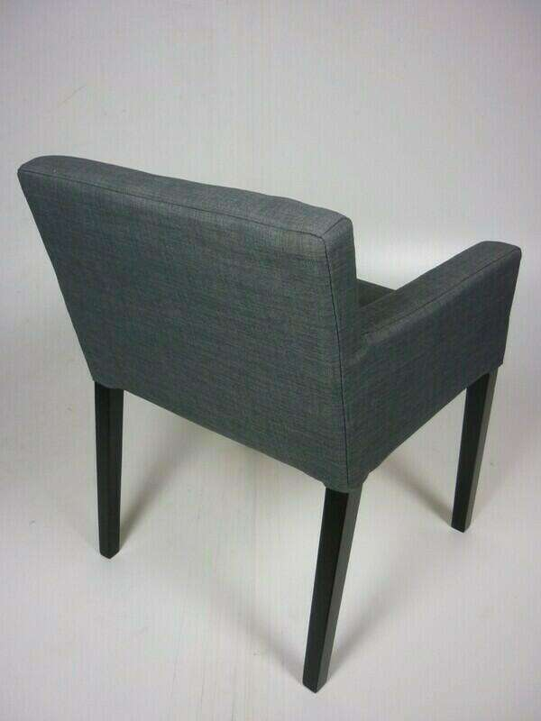 Grey Ikea armchairs
