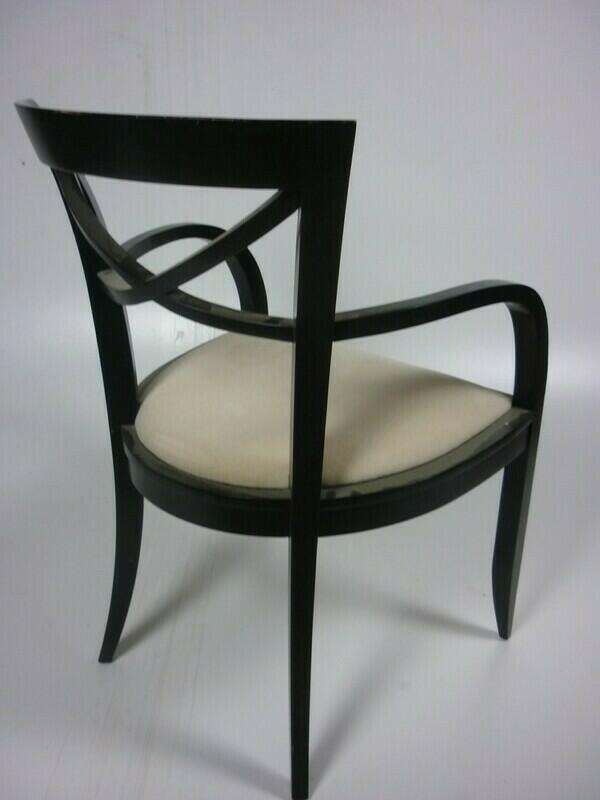David Edwards wooden dining chairs