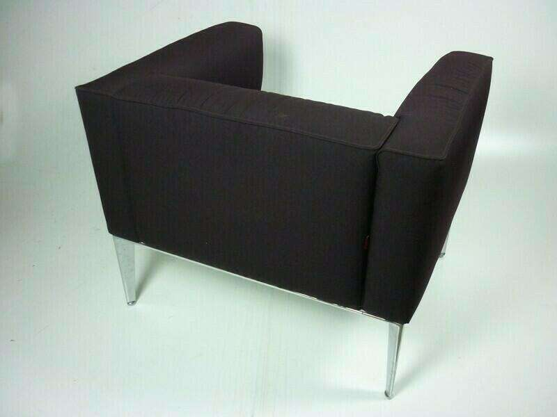 Arper Sean purple armchairs