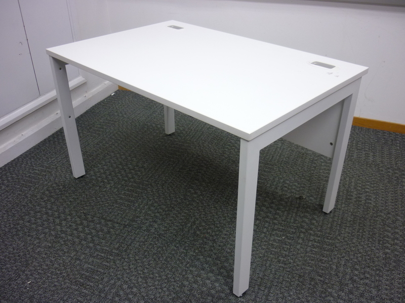 Office Interiors white 1200x800mm desks