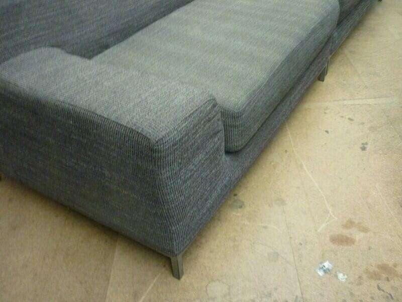 Grey modular seating