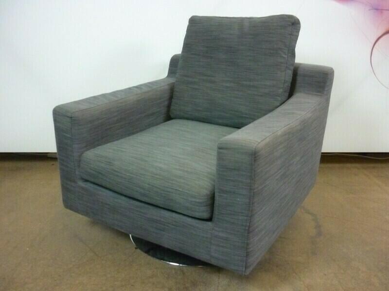 Dwell Oslo grey armchair