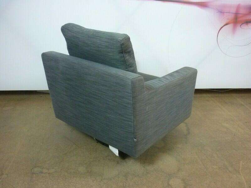 Dwell Oslo grey armchair