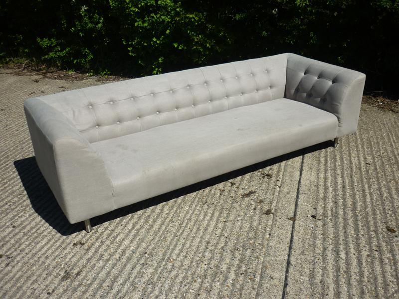SCP Lansdowne cream 3 seater sofa