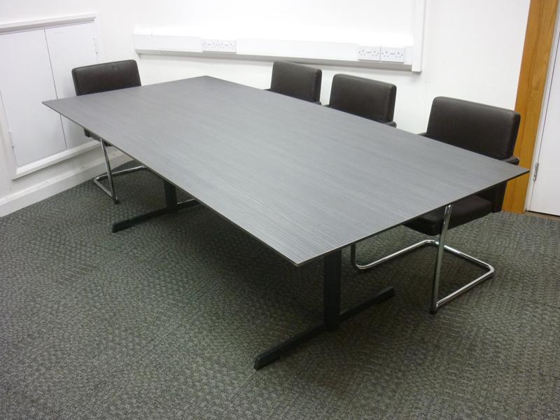 2400x1100mm ash boardroom table