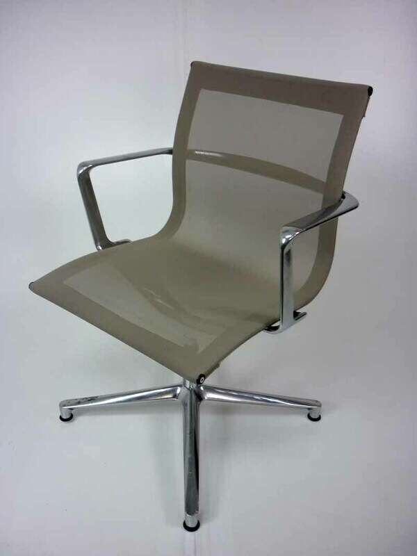 Mushroom ICF Una mesh meeting chair