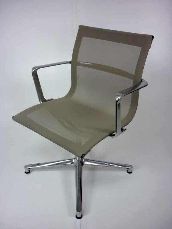 Mushroom ICF Una mesh meeting chair
