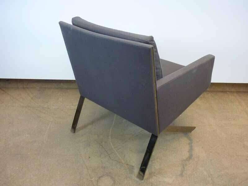 B&B Italia Theo grey armchair