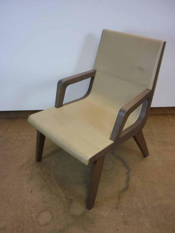 Maxalto Acanto leather armchair
