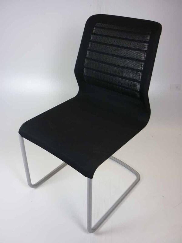 Black Senator Fuse mesh meeting chair