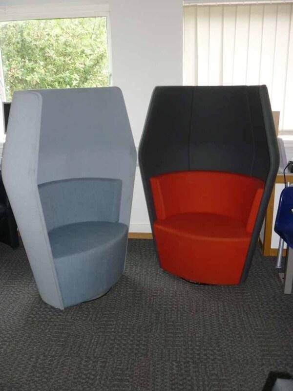 Boss Design Peek Private Workstations