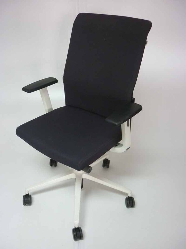 Graphite fabric Sedus Crossline task chair