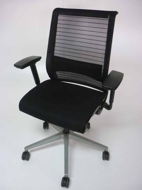 Steelcase Think mesh back black task chair