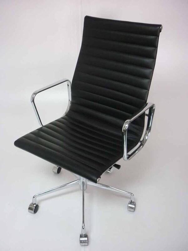 Eames replica Aluminum executive leather chair
