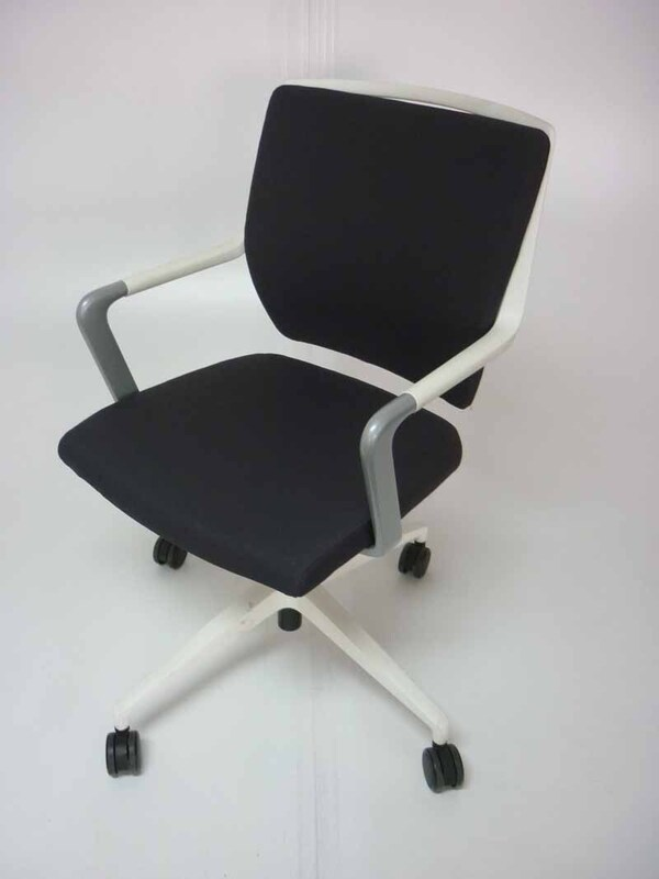 Sedus Crossline graphite mobile meeting chair