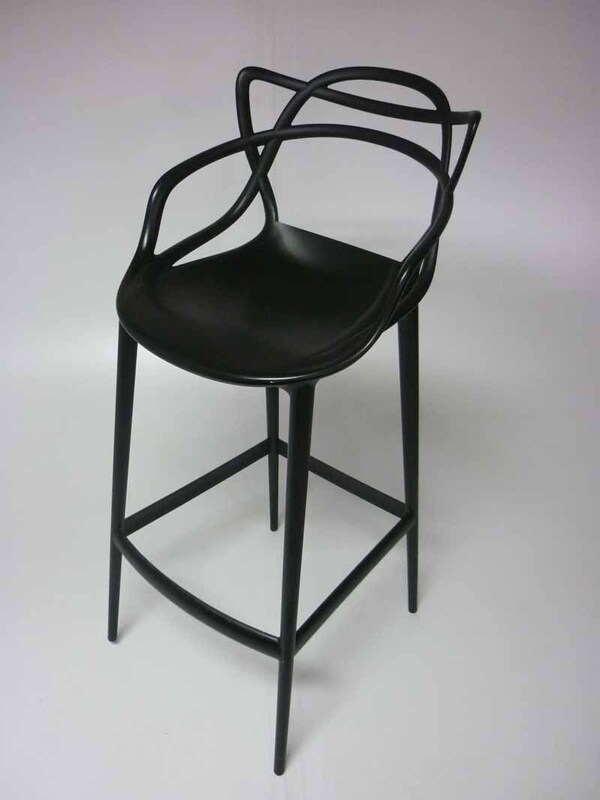 Philippe Starck for Kartell black Masters stool