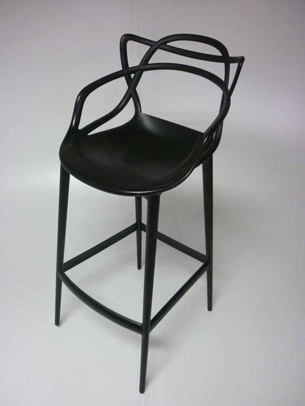 Philippe Starck for Kartell black Masters stool