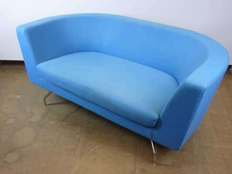 Orangebox CWTCH pink 2 seater sofas