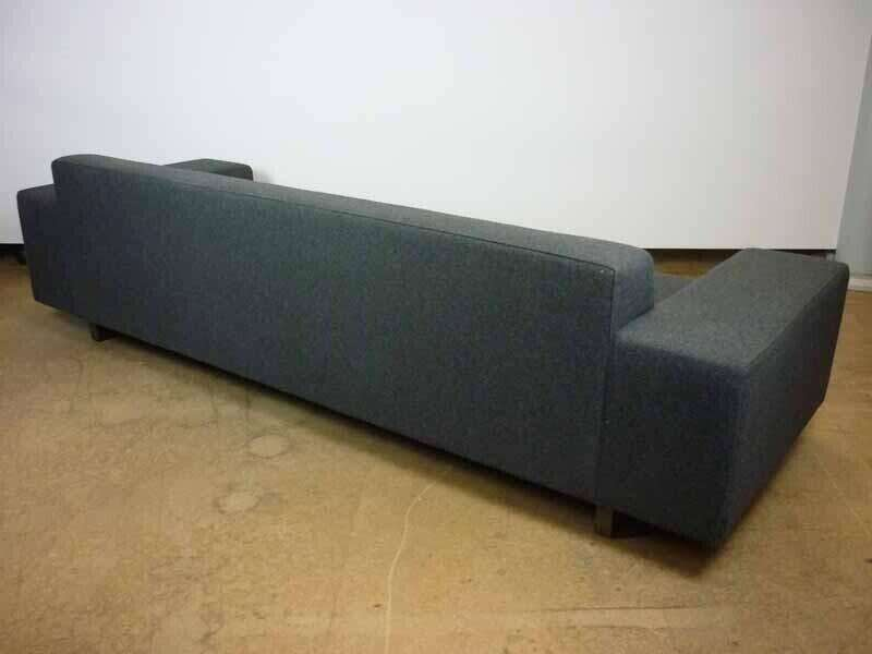 Hitch Mylius hm46 Abbey grey 3 seater sofa