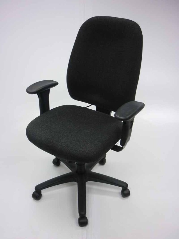 TC Vista charcoal 24 hour task chairs