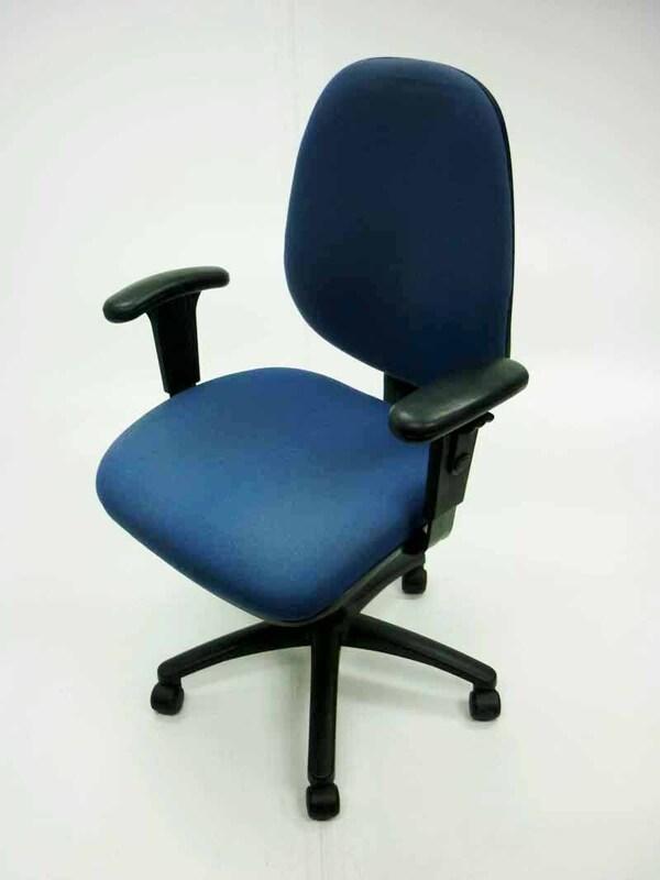 Light blue Summit Ergonomic Operator chairs
