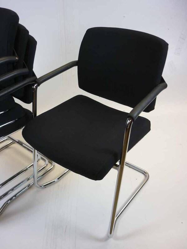 Black Summit Horizon stacking chairs