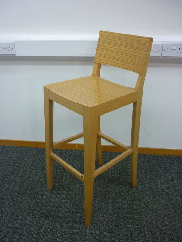 Bamboo 4 leg stool