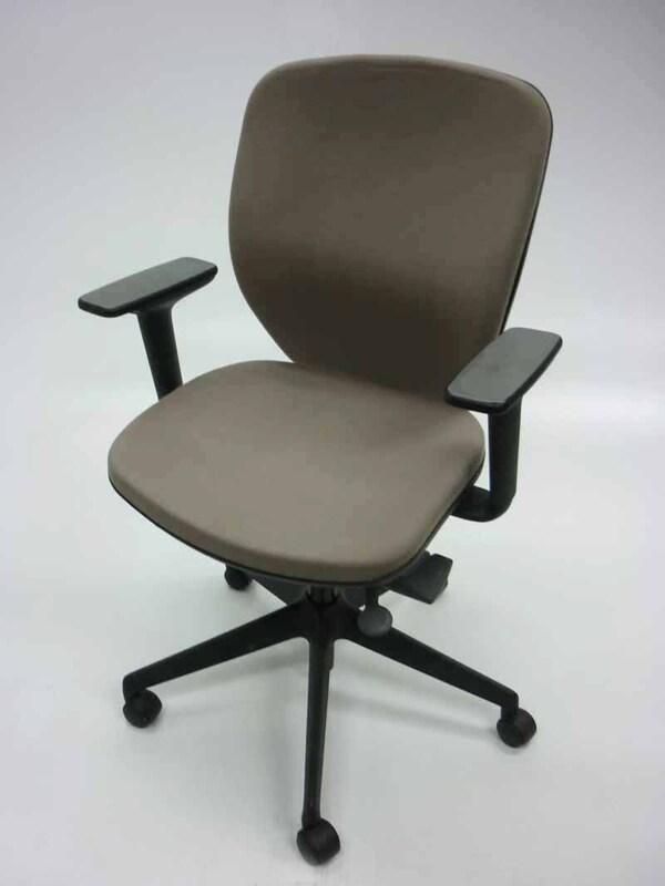 Orangebox Joy cream operator chairs