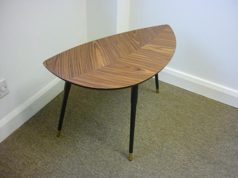 Ikea Lovbacken leaf pattern coffee table