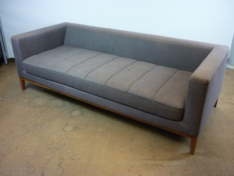 Dwell quilted 3 seater sofa