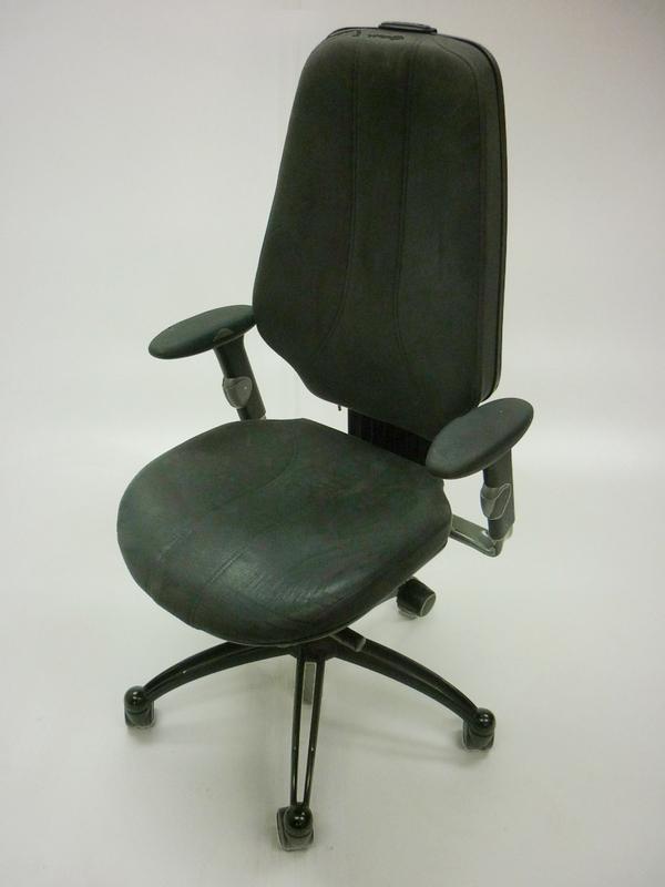 RH Logic 400 task chairs
