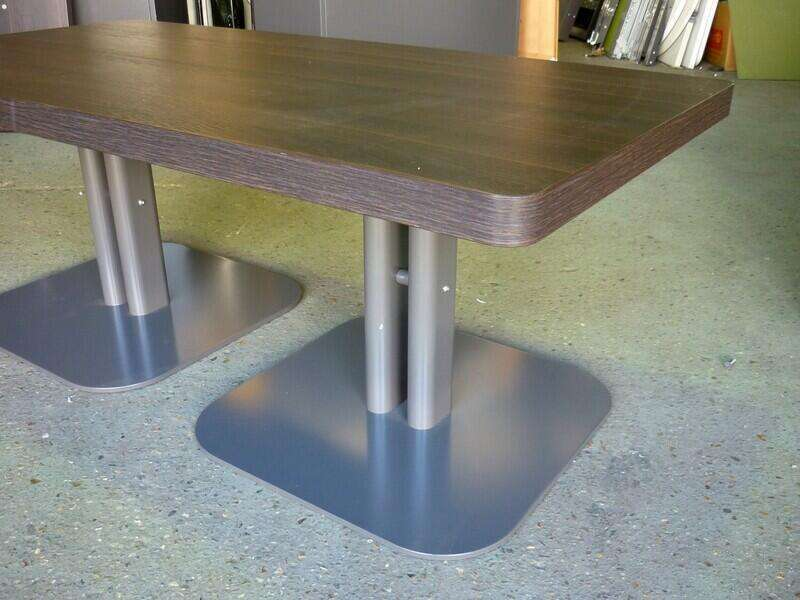 1200mm wide wenge coffee tables