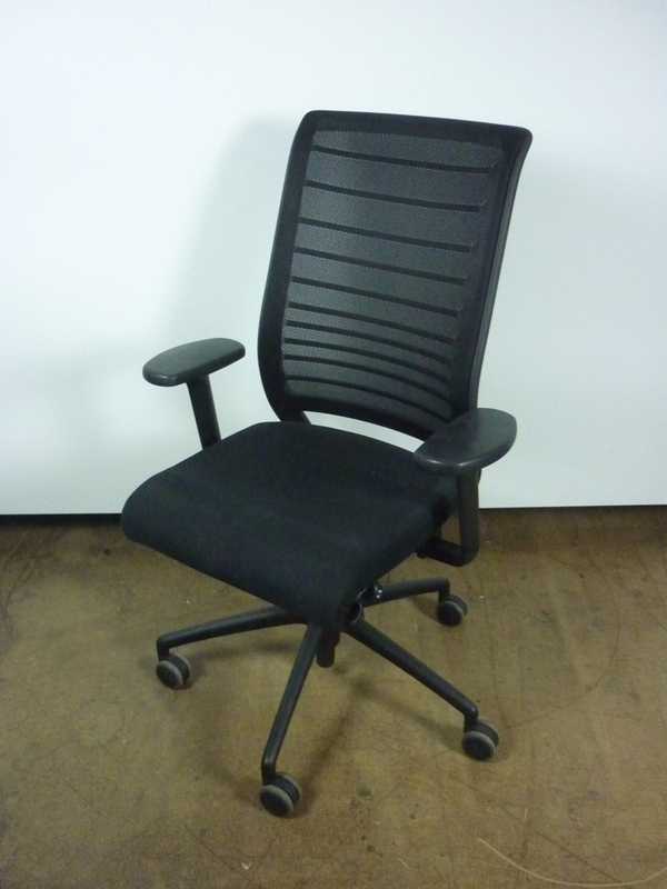Black Interstuhl Hero mesh back task chair