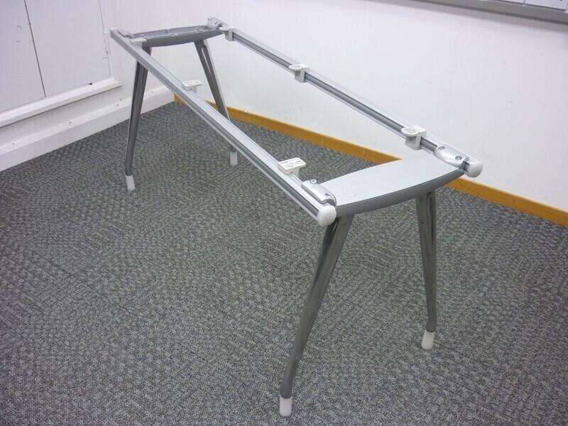 Herman Miller Abak chrome leg frames & top