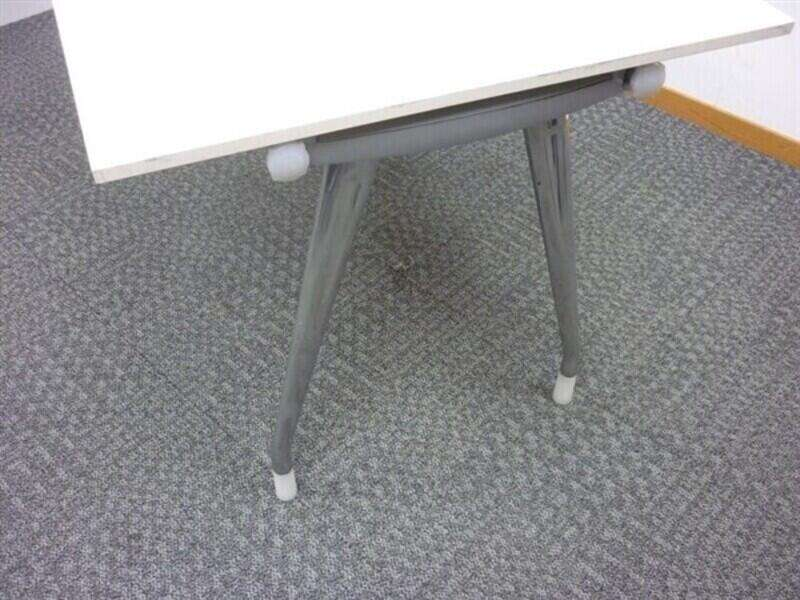Herman Miller Abak Bench System Chrome Leg Frames & Top