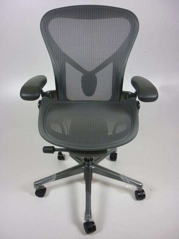 Herman Miller Aeron Remastered Chairs, from