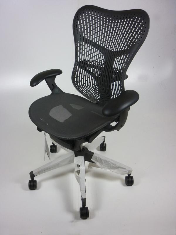New Herman Miller Mirra 2 chairs