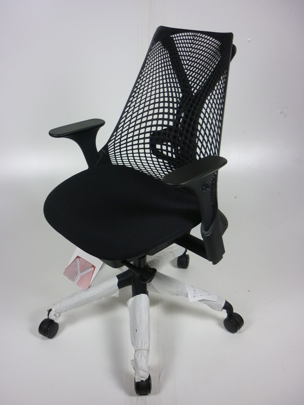 New Herman Miller Sayl chairs, from