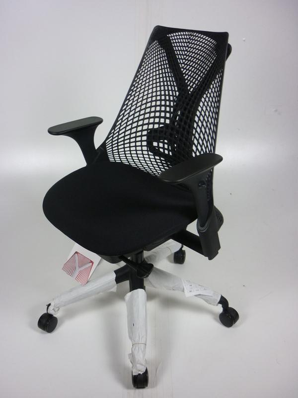 New Herman Miller Sayl chairs