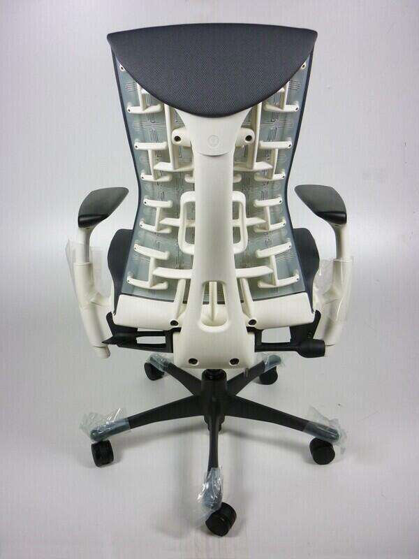 New Herman Miller Embody chairs, from