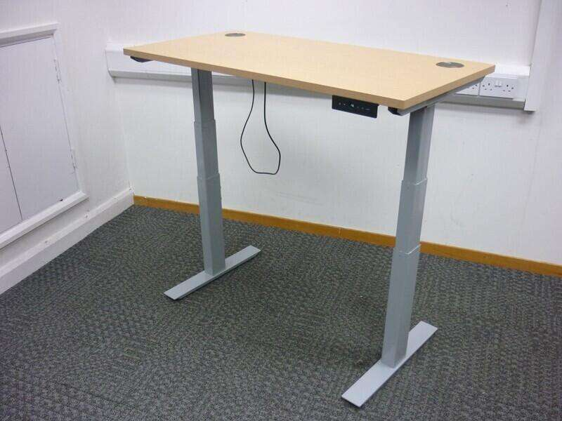 1200x600mm Century Autonomy Pro Electric desks