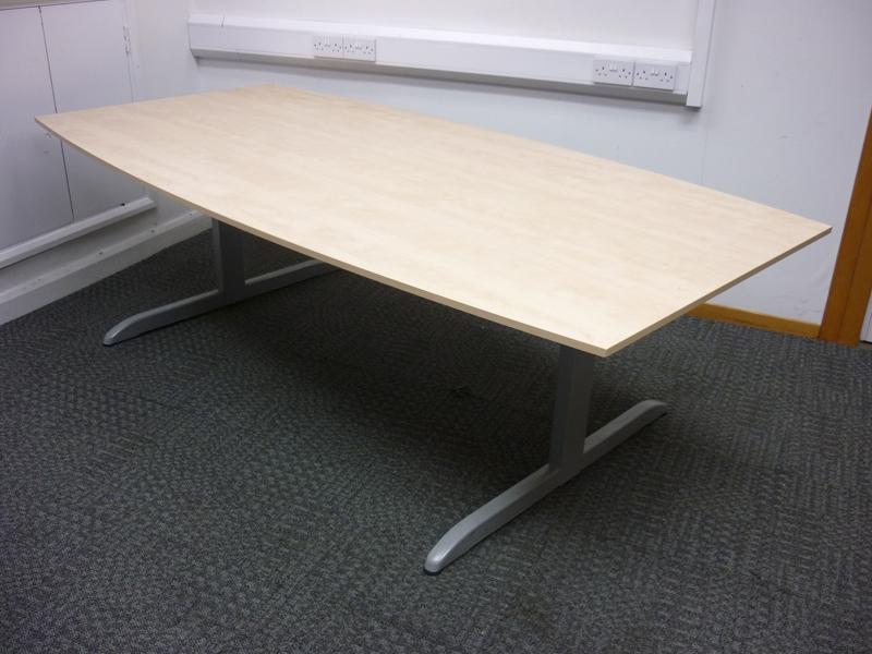 2400mm maple Techo boardroom table