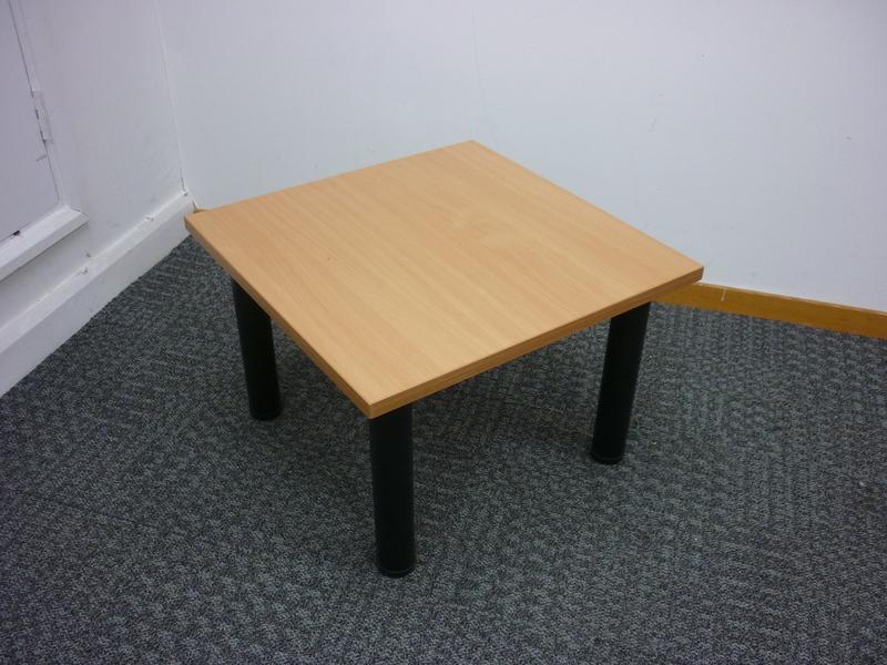 600x600mm beech coffee table