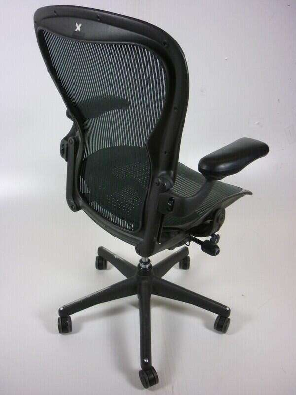 Herman Miller Aeron with Green mesh