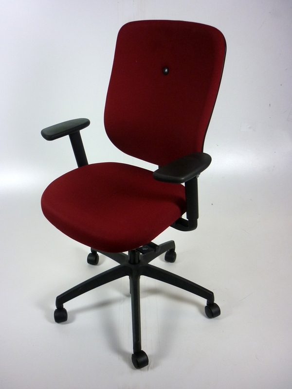 Burgundy Connection My task chair