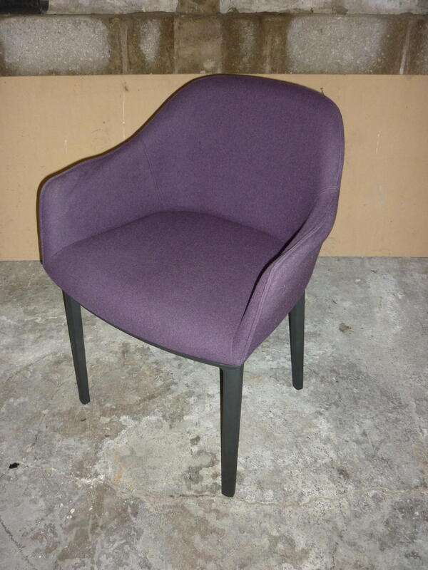 Purple Vitra Softshell chairs